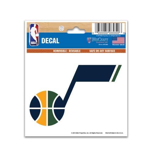 "Wincraft Utah Jazz Multi-Use Decal 3""x4"""
