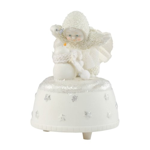 A Little Holiday Magic Dept 56 Snowbabies Music Box