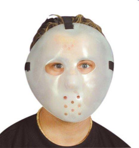 Forum Novelties Ukps Glow in The Dark Plastic Jason Hockey Mask