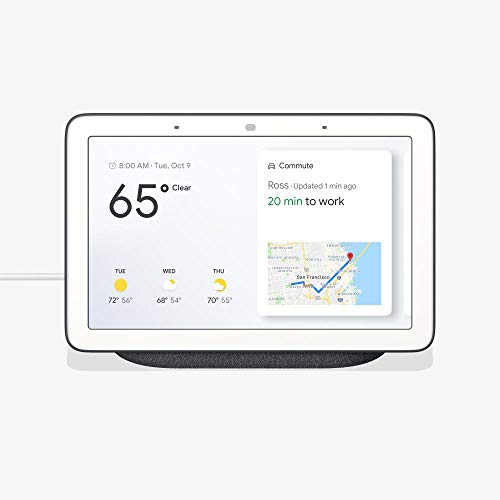 Home Hub with Voice-Activated Assistant - 7'' Smart Touchscreen (Charcoal Gray) by GL1234 (Image #4)