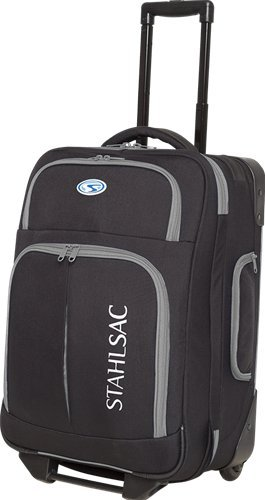 Stahlsac by Bare Rangi Roller Bag (Black/Grey)