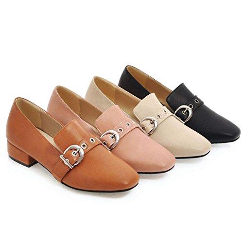 Mujer Zanpa Low Brogue Top Black Mode Zapatos SFq41Bw