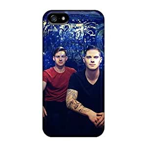 ErleneRobinson Iphone 5/5s Protective Hard Phone Cases Support Personal Customs Colorful Boys Like Girls Band Skin [svX19621YlQC]