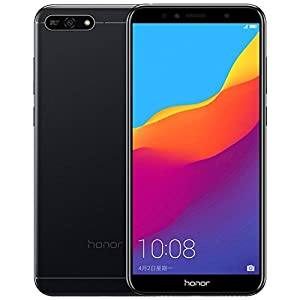 Huawei Honor 7A 16GB, Dual SIM, 2GB RAM, 5.7″ LTE Factory Unlocked Smartphone – International Version (Black)