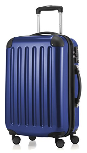 (HAUPTSTADTKOFFER - Alex - Carry on luggage Suitcase Hardside Spinner Trolley Expandable 20¡° TSA Darkblue)
