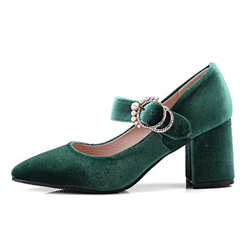 SDC05865 36 5 Green Vert Femme Compensées Sandales AdeeSu pBx7dqwYY