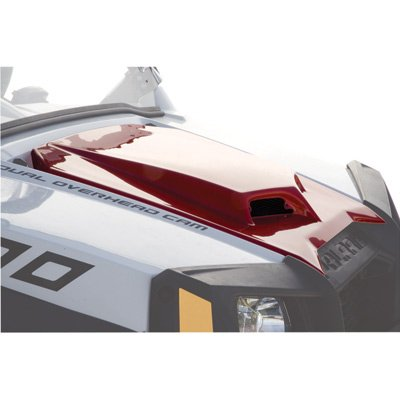 Maier Scooped Hood Fighting Red for Polaris RANGER RZR S 800 LE 2011-2012 - Maier Scooped Hood
