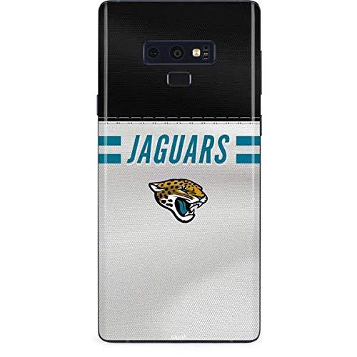 77537140 Amazon.com: Skinit Jacksonville Jaguars White Striped Galaxy Note 9 ...