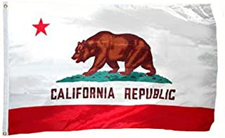 product image for Valley Forge California Flag 4x6 Foot Spectramax Nylon