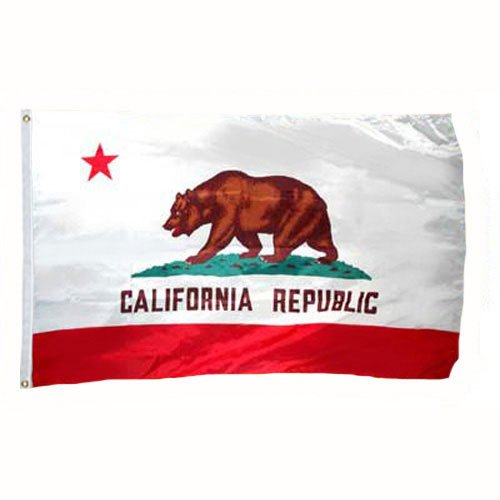 Valley Forge California Flag 2x3 Foot Spectramax Nylon