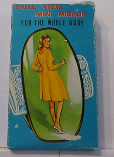 VINTAGE FULL VIEW MINI MIRROR FOR THE WHOLE BODY NO. 343 (MADE IN HONG KONG & FREE SHIPPING)