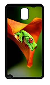 customize covers tree frog hd TPU Black case/cover for samsung galaxy note 3 N9000