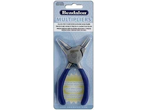 MultiPliers Round Nose, and Chain Nose Combination Jewelry Making Pliers