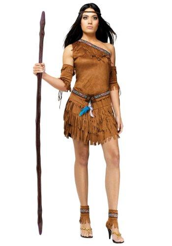 Pow Wow Native American Adult Costume Small/Medium