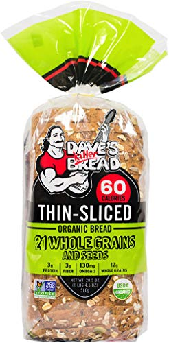 Grain Bread - Killer Bread thin sliced 21 whole grains bread 20.5oz loaf