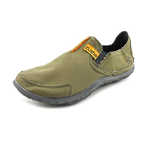 Olive Canvas Footwear - Cushe Men's Olive Canvas Slipper Mens 40 M EU