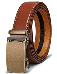 BULLIANT Cinturón Hombre Cuero Automática Cinturón De Hombre 35MM-Tamaño Ajustable