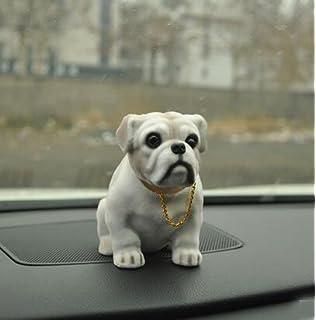 ca70e7df92b siyaful Bobbing Head Dog - Bobble Head Auto Car Dashboard Decors Toy Bulldog