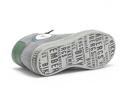 Bikkembergs , Herren Sneaker Grau grigio verde