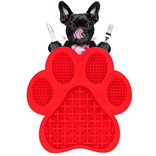 Leckmatte Hund Schleckmatte Hund Lickimat Hunde Schleckmatte Schleckplatte Slow Feeder Mit Super Starke Saugkraft, für…