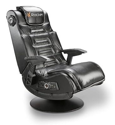 X Rocker Pro Series II 2.1 Wireless Bluetooth Audio Chair, Black/Platinum