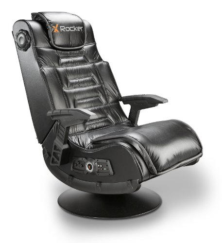X Rocker 51396 Pro Series Pedestal 2.1 Video Gaming Chair Wireless