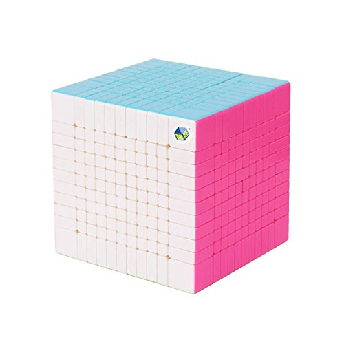 acdiac 7x7x7 to 11x11x11 Pro Speed cube stickerless Magic Cube toy Puzzles toy (11X11X11, Colorful) by acdiac (Image #4)