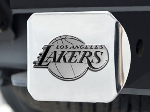 Los Angeles Lakers Heavy Metal NBA Chrome Hitch Cover