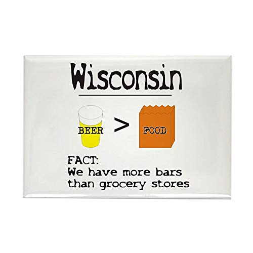 CafePress More Bars Then Grocery Stores Magnets Rectangle Magnet, 2