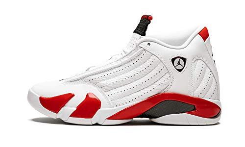 Jordan Air 14 (White/Black-Varsity Red 17) (Retro 17 Jordan Shoes)