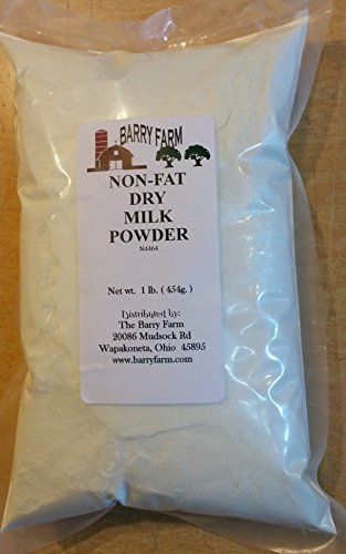 Non-Instant Non Fat Milk Powder, 1lb.