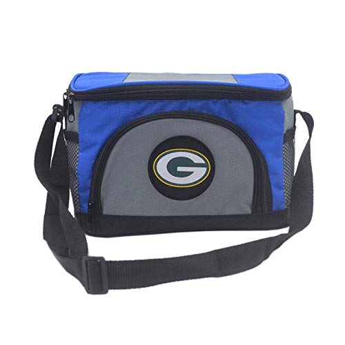 Unisex NFL Embroidered Insulated Lunch Bag Cooler - Pick Green Bay Packers (Green Bay Packers And San Francisco 49ers)