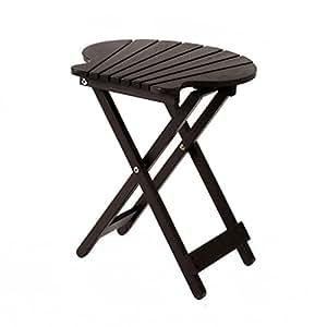 Simple balcón al aire libre de madera maciza mesa plegable portátil escritorio Lazy pequeña mesa cuadrada mesa de café