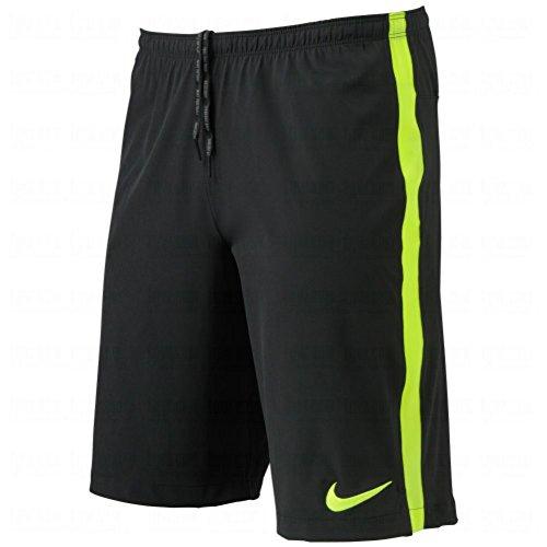 Nike Mens Dri-FIT Select Strike Longer Woven Short Black/Volt (Nike Longer Woven Shorts)