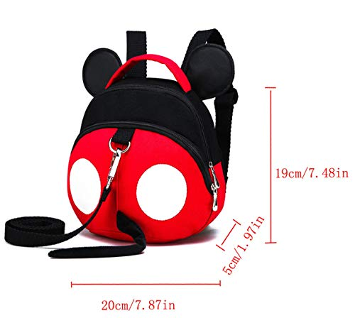 Baby Anti-Lost Harness, Yimidear Purified Cotton Toddler Backpack with Safety Leash for Babies & Kids Boys and Girls by Yimidear (Image #5)