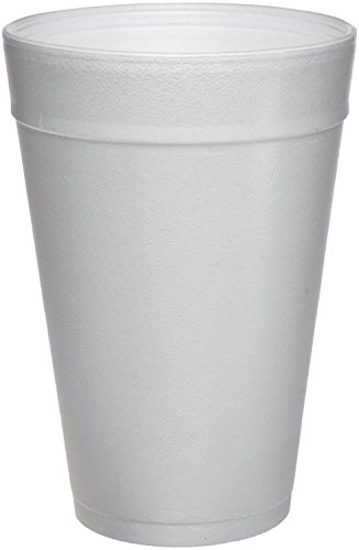 DART WHITE FOAM CUPS 32 OZ PACK OF 25 (SEE MORE SIZE OPTIONS)