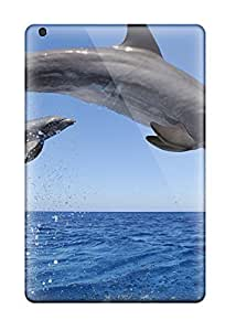 Cute Appearance Cover/tpu XmbQJZQ2056FjELa Dolphins Case For Ipad Mini/mini 2