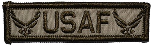 usaf-us-air-force-emblem-1x375-inch-military-patch-morale-velcro-patch-desert-tan