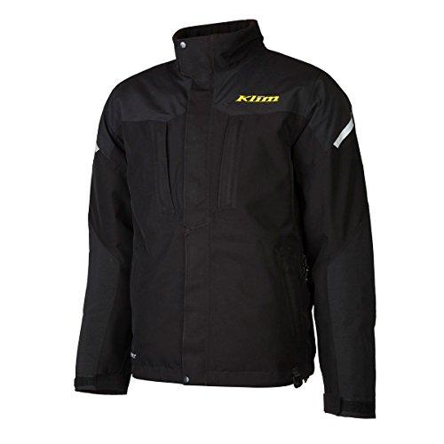 Klim Keweenaw Parka Men's Ski Snowmobile Jacket - Black / Large