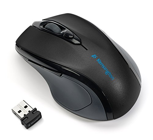 Kensington Pro Fit Mid-Size Right-handed Wireless Mouse with Nano Receiver (K72405US)