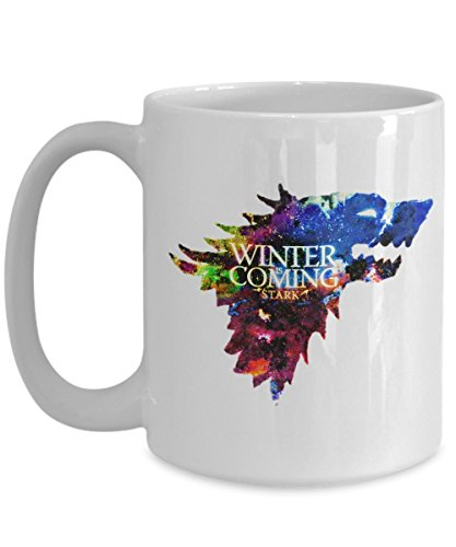 Game of Thrones Mug | Coffee Cup | Ceramic Mug | Winter is coming | House Stark Cup