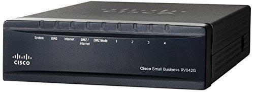 (CISCO Dual Gigabit WAN VPN Router - RV042G-K9-NA (Renewed))