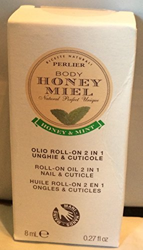 (Perlier Honey Miel Roll-On 2 in 1 Nail & Cuticle Treatment)