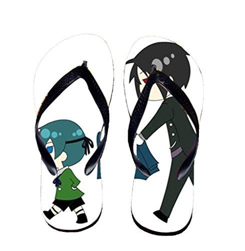 Bromeo Black Butler Anime Unisex Flip Flops Chanclas 72