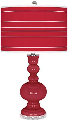 Samba Bold Stripe Apothecary Table Lamp - Color + Plus