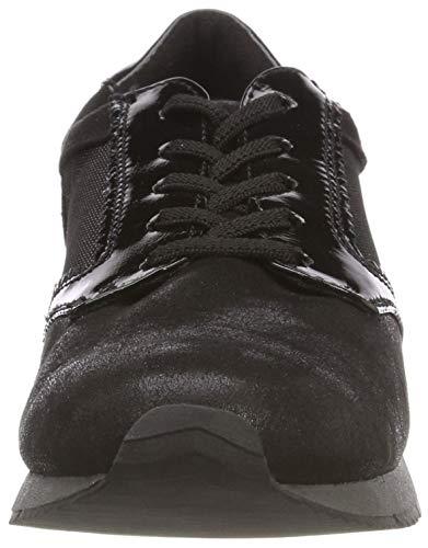 Comb Sneakers 98 21 23601 black Noir Basses Tamaris Femme E0q6Z8