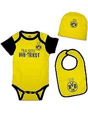 Borussia Dortmund BVB babygeschenkdoos (3-delig).