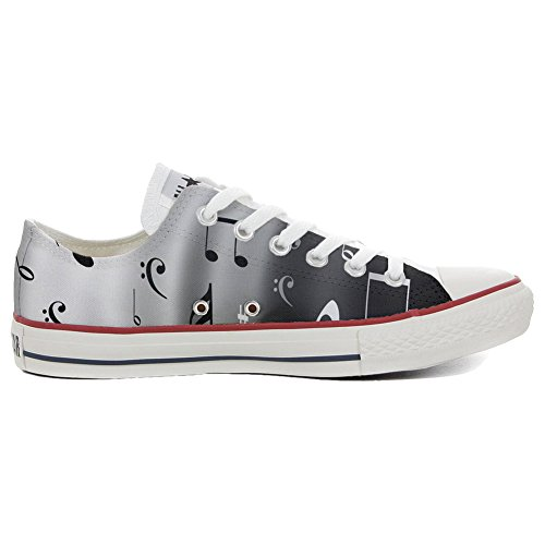 Producto Personalizados Notes Star Converse All Musical Unisex Artesano Zapatos tTnXq4