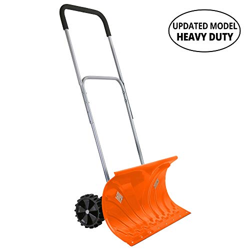 Ivation Snow Pusher Shovel