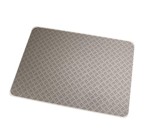 Floortex Colortex Photo Polycarbonate Chair Mat for Carpets and Hard Floors, 48